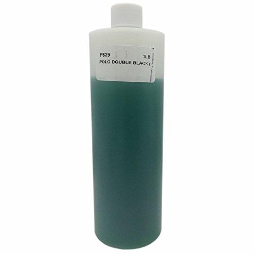 16 oz - Bargz Perfume - Polo Double Black Body Oil For Men by Ralp Lauren Scented - Black Model Polo