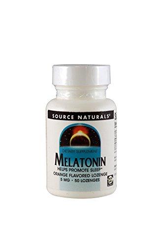 Source Naturals Melatonin Orange Tablets product image