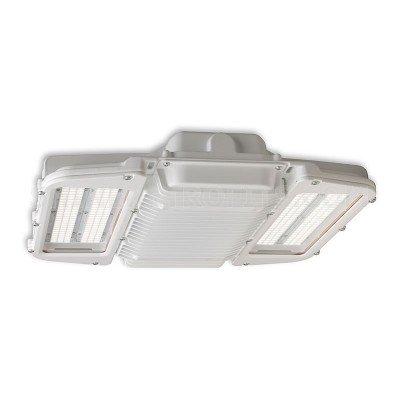 GE Lighting ABR1-0-1-H Series 90 Watt High Low Bay Fixture Single LED Module High Output Multivolt 120-277V | Warehouse Shop Light | 11800 Lm | Retail Light | Heavy Industrial and Wet Applications -