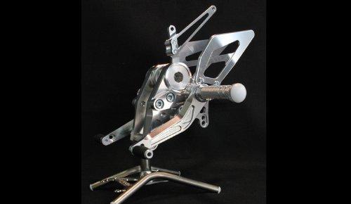 4ポジションステップキット シルバー for DUCATI NEW MONSTER M696シリーズ   B00D04RPBA