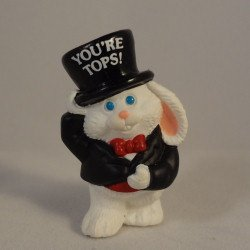Bunny in Tux You're Tops Hallmark Merry Miniature QFM1713