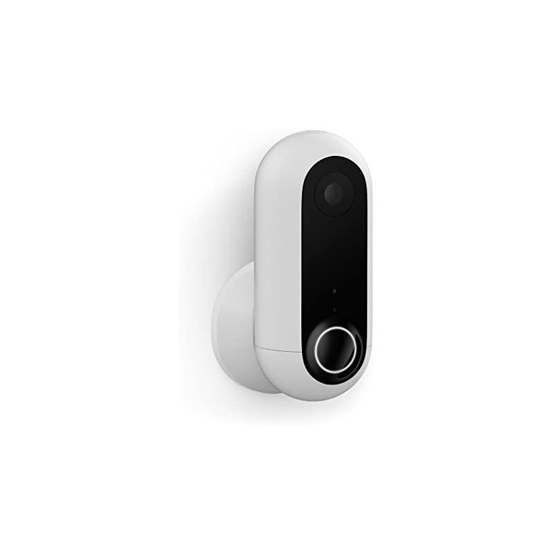Canary Flex Indoor Outdoor HD Security Camera, Weatherproof, Wire-Free or Plug in, Works with Alexa