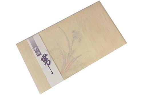なめらかな感情のバラ色夏用 じゅらく 紗 前開き 手縫い仕立て 八寸 名古屋帯 NSM-9
