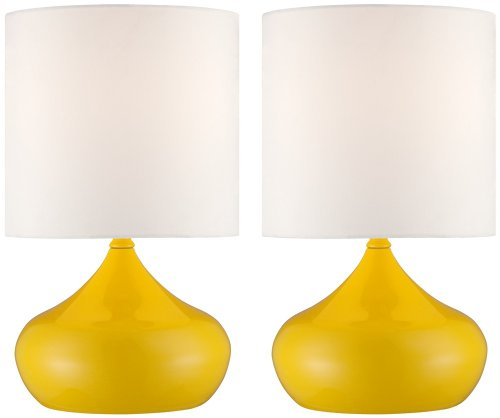 Yellow Accent Lamp - 1