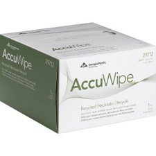 Pacific Blue Basic AccuWipe Recycled 1-Ply Disposable Delicate Task Wiper by GP PRO (Georgia-Pacific), Small, White, 60 Boxes 280 Count
