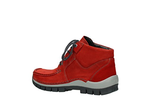 Wolky Comfort Chaussures à lacets Seamy Cross Up 11502 Nubuck Rouge eHIKPjv