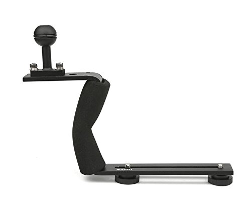 AXION Single Arm Aluminium Diving Handle w/ Ball Adapter for Underwater Photo & Video Lighting by Axion