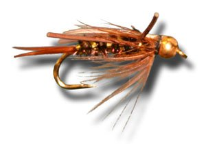 BH Prince - Rubber Leg Fly Fishing Fly - Size 18 - 12 Pack