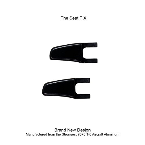 UPR 2005-2014 Mustang Billet Seat Release Levers Black - The FIX !