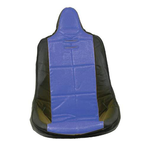 Seats Buggy Dune (Empi 62-2352 Blue Vinyl High Back Poly Seat Cover. Dune Buggy Vw Baja Bug, Each)