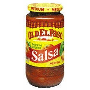 Old El Paso Thick & Chunky Medium Salsa 16 oz (Pack of 12)