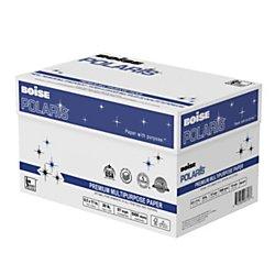 Boise POL8511 POLARIS Premium Multipurpose Paper, 8 1/2 x 11, 20lb, White (Case of 5000 Sheets) Premium High Speed Copy Paper