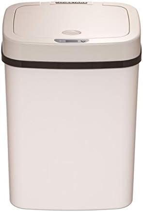 ゴミ箱 12L全自動インテリジェント誘導ゴミ箱バスルームベッドルームごみビン キッチン、バスルーム、オフィスに最適 (Color : Beige, Size : 12L)