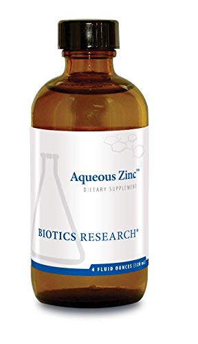Biotics Research Aqueous ZincTM Supports Immune Health, Reproductive Health, Growth and Physical Development, Digestion and Metabolism