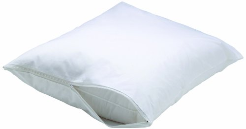 AllerEase Bed Bug Allergy Protection Zippered Pillow Protect