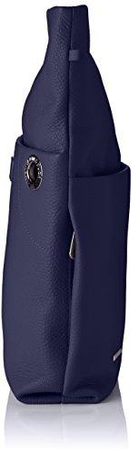 Mandarina Azul Tracolla Mujer hombro Bolso Duck de Eclipse Mellow Leather r4cPvT7rp