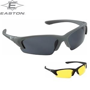 Easton Diamond Interchangeable Baseball Softball Sunglasses Black A162719 (Easton Glasses Sun)