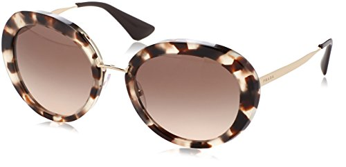 Prada CINEMA' PR16QS Sunglasses UAO3D0-55 - Spotted Opal Brown Frame, Brown - Prada 2017 Sunglasses Cinema