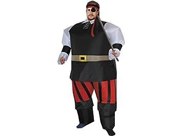 DISONIL Disfraz Hinchable Pirata: Amazon.es: Juguetes y juegos