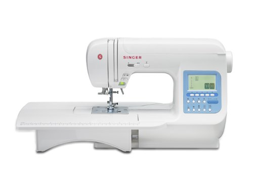 SINGER 9970 600-Stitch (1000+ Stitch Function) Computerized Sewing Machine with Extension Table, Bonus Accessories and Hard Cover (Case Bobbin Threading)
