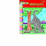 Color and Learn - Dinosaurs, Grades 2-6, Kathy Rogers, 1564722244