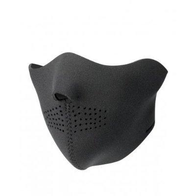 halbe gesichtsmaske aus neopren black panther airsoft. Black Bedroom Furniture Sets. Home Design Ideas