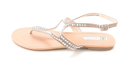 INC International Concepts - Sandalias de vestir para mujer gris