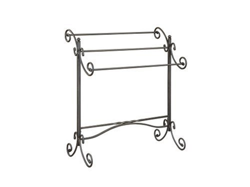 Powell Metal Scroll Blanket Rack by Powell Furniture