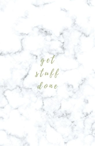 Get Stuff Done: Small Softcover Blank Lined Notebook; Gold Marble Notebook; Motivational Quote Notebook, Inspirational Notebook, Marble Journal, Funny ... Gift, Gift for Bridesmaids, Friends pdf