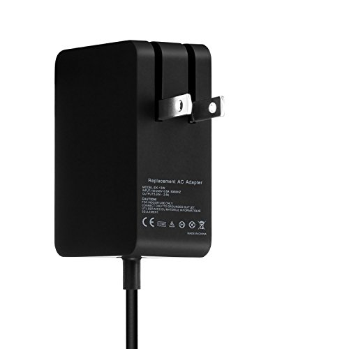 Runpower 13w Surface Power Supply Adapter Charger for Microsoft Surface 3 Tablet