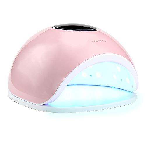 Lámpara del clavo del secador del clavo del profesional LED, 33 granos de la lámpara 72W exhibición de cristal líquido...
