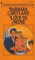 Barbara Cartland 5 books / The Enchanted Moment, The Audacious Adventuress, Love is Mine, Stolen Halo, Sweet Punishment (Volume# 40-41-43-44-45)