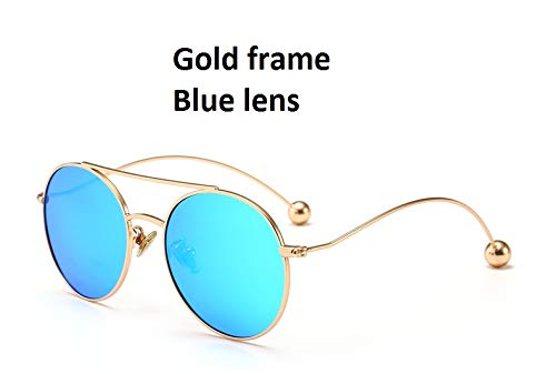 Blue de Soleil Cadre Lunettes métal Ruiyue de en Enfants courbure Femme 8vwxCqnH6