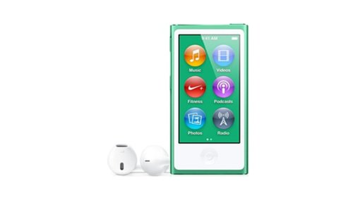 LATEST MODEL Apple Ipod Nano 7th Generation 16 GB Green With Generic White Earpods and A USB Data Cable (Non Retail Packaged in a Brown Box) (Used Ipod Nano 7th Generation)