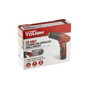 Hyper Tough 12Volt Cordless Lithium-ion Drill/Driver