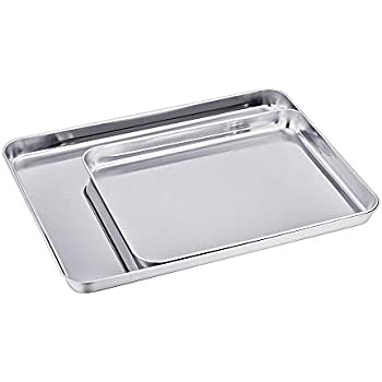 Amazon Com 2pack Baking Sheet Cookie Sheets Pure