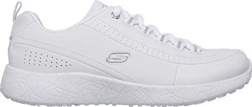Skechers Women's Burst Daumen Up Sneaker, Wei�