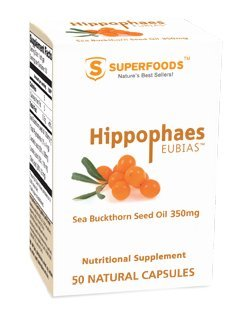 Sea Buckthorn Seed Oil Capsules by Superfoods