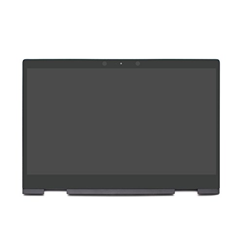 LCDOLED 15.6'' FullHD IPS LCD Touch Screen Digitizer Assembly + Bezel + Board for HP Envy x360 15-bq 15-bq000 15-bq100 15m-bq000 15m-bq100 15m-bq021dx 15m-bq121dx 15-bq175nr 15-bq075nr 15-bq051nr -
