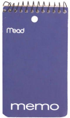 043100453543 - Mead Memo Book Spiral 3 In. X 5 In. carousel main 0