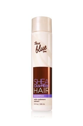 Bath and Body Works True Blue Spa Shea Cashmere Hair Shampoo 10 FL (Spa Bath Body Hair Shampoo)