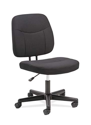 Sadie Task Chair-Computer Chair for Office Desk, Black (HVST401)