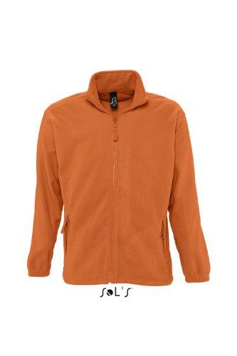 Naranja polaire SOL'S Centrale naranja Veste zipée Club homme North qxZ0HwAv