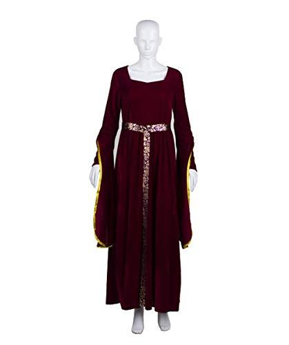 HalloweenPartyOnline Adult Women's Lady Guinevere Berry Medieval Renaissance Costume HC-316]()