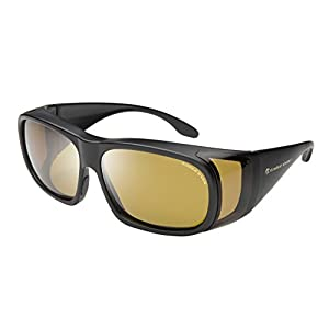 Eagle Eyes FitOns Polarized Sunglasses - Black Matte