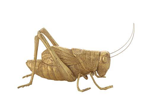 Creative Co-op Gold Resin Cricket Figurine, ()