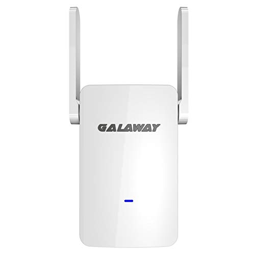 GALAWAY S1200 WiFi Range Extender, Wireless Repeater Internet Signal Booster 2.4GHz 5GHz Dual Band Up to 1200 Mbps