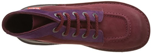 Femme Kickers Col Mixte Col Kickers Bottines 7Wvq8T