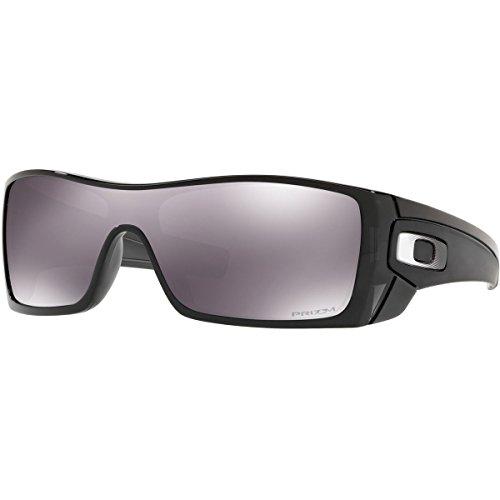 Oakley Men's Batwolf Non-Polarized Iridium Rectangular Sunglasses, Black Ink, 0 mm