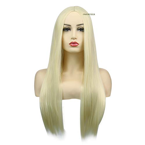 Long Straight Anime Cosplay Wigs Heat Resistant Hair